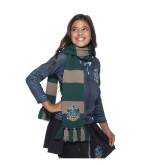 SLYTHERIN KNIT SCARF (6)