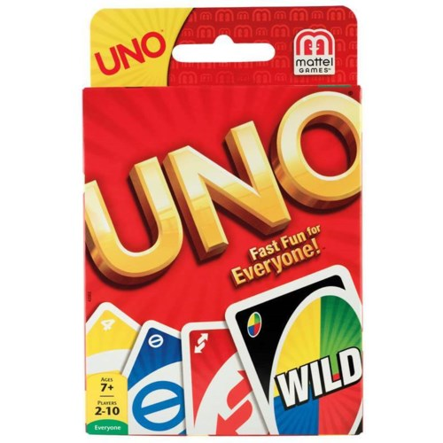 UNO CARD GAME (12) BL