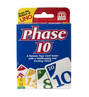 PHASE 10 CARD GAME BL (12)