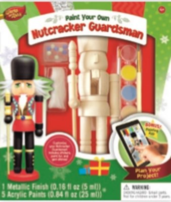 NUTCRACKER GUARDSMAN WOA WOOD PAINT SET (4)*D*