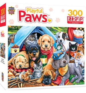 CAMPING BUDDIES PUZZLE (4) *D*