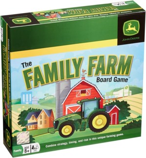 JOHN DEERE FAMILY FARM GAME (12)*D*