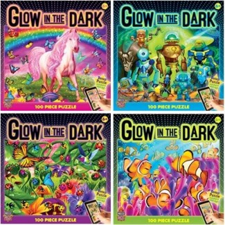 GLOW IN THE DARK 100PCS. ASST. (4) *SD*
