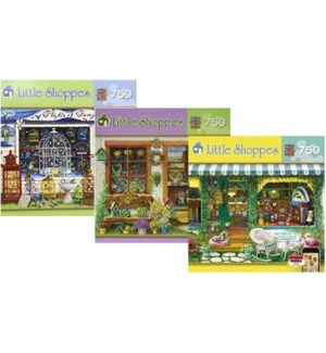 LITTLE SHOPPES 750PCS. ASST. (4) *D*