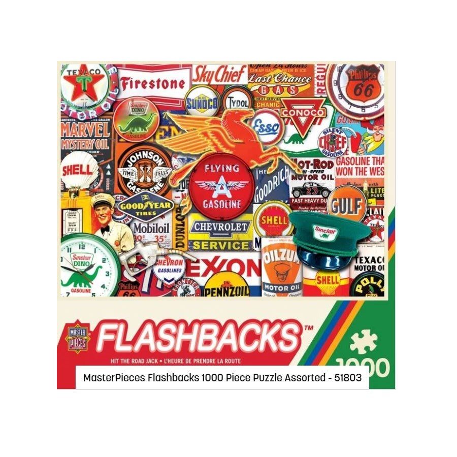 FLASHBACKS 1000 PCS ASST.(4) *D*