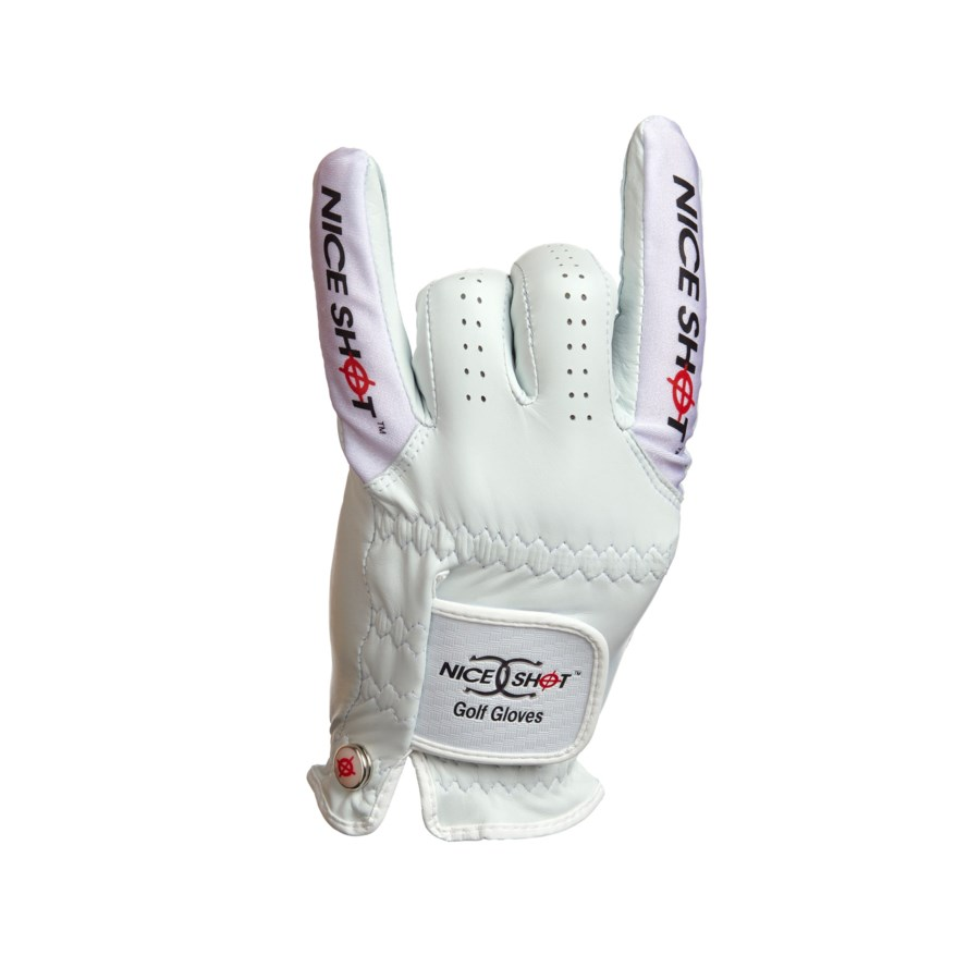 NICE SHOT GOLF GLOVE ILCORONA-MLH/M (6)