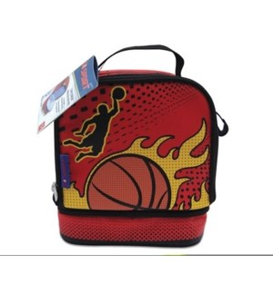 GO SPORT BASKETBALL LUNCH BOX (4) *D*