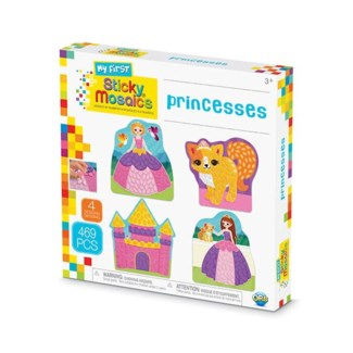 MY FIRST STICKY MOSAICS® - PRINCESSES (6) BL