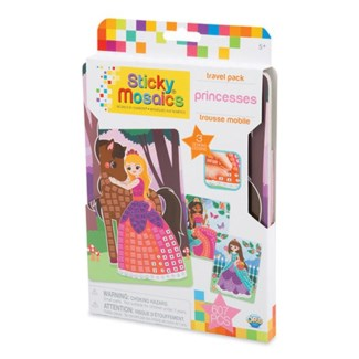 STICKY MOSAICS® - TRAVEL PACK - PRINCESS (6) BL