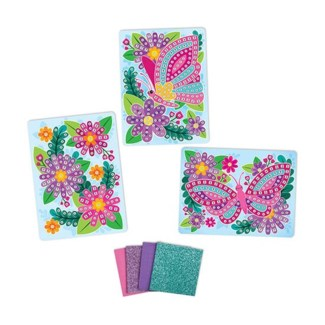 STICKY MOSAICS® - TRAVEL PACK - FLOWERS (6) BL