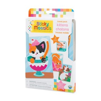 STICKY MOSAICS® - TRAVEL PACK - KITTENS (6) BL
