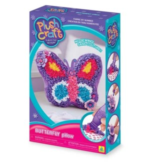 PLUSHCRAFT BUTTERFLY PILLOW (6) BL*D*
