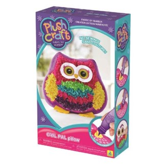 PLUSHCRAFT OWL PAL PILLOW (6) BL