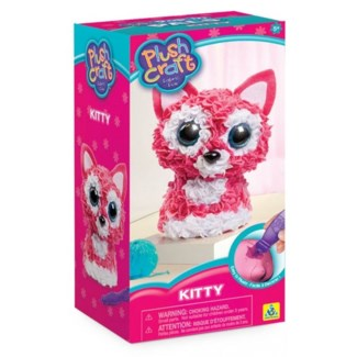 PLUSHCRAFT™ KITTY (3D) (6) BL