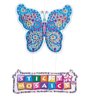 STICKY MOSAICS BUTTERFLY HANGING SIGN (1)  *D*