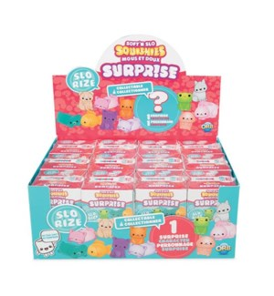 SOFT N SLO SQUISHIES™ SURPRISE PACK ASST (12) BL *D*