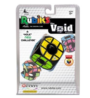 RUBIK'S THE VOID PUZZLE CLAM PKG (6)