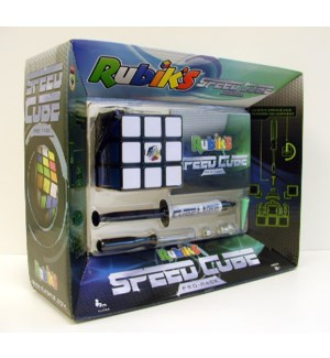 RUBIKS 3X3 SPEED CUBE PRO PACK  (6)