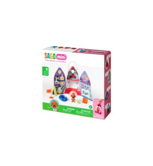 PORTABLE PLAYSET - HARVEY'S SPACE SHIP (4) BL