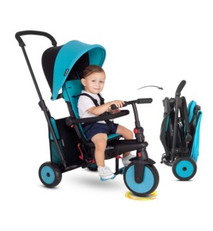STR 3- PLUS 6 IN 1 FOLDING TRIKE BRIGHT BLUE (1)