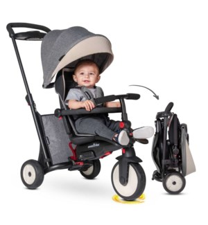 STR 5- 7 IN 1 FOLDING TRIKE GREY MELANGE (1)