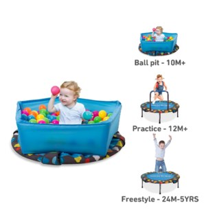 ACTIVITY CENTRE 3 IN 1 TRAMPOLINE (2)