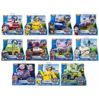 PAW PATROL BASIC VEHICLE WITH PUP ASST (6)