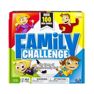 FAMILY CHALLENGE BOARD GAME (4) *SD*