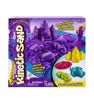KINETIC SAND BOX SET (6)