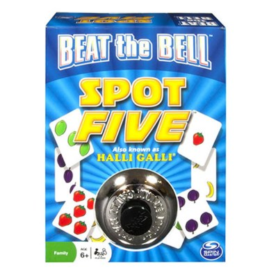 BEAT THE BELL SPOT FIVE BOARD GAME (5) *SD*