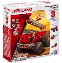 MECCANO 3 MODELS SET (5)