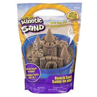 KINETIC SAND 3LB BEACH NATURAL BROWN (3) *FALL2018*