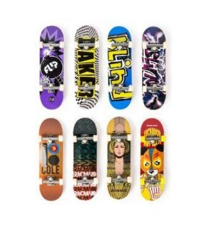 TECH DECK 96MM FINGER BOARD ASST (12)