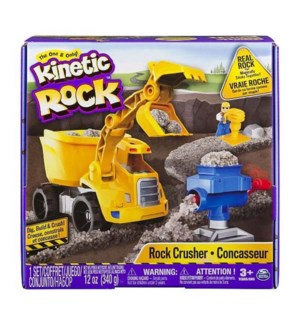 KINETIC SAND ROCK CRUSHER (3) *SD*