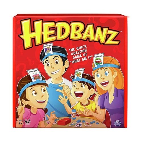 HEDBANZ BOARD GAME FAMILY (5)