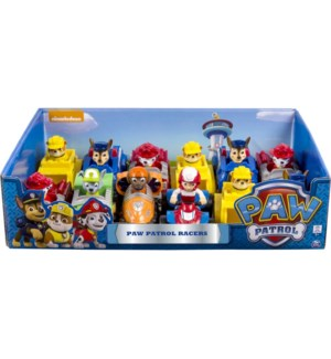 PAW PATROL RESCUE RACERS ASST BL (12) BL *SD*