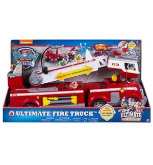 PAW PATROL ULTIMATE FIRE TRUCK PLAYSET (1) *SD*