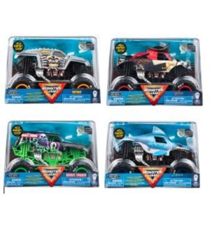 MONSTER JAM 1:24  DIE CAST TRUCK ASST (6) BL