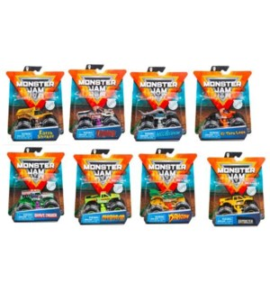 MONSTER JAM SINGLE PACK ASST (12) BL