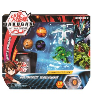 BAKUGAN BATTLE PACK (6) BL