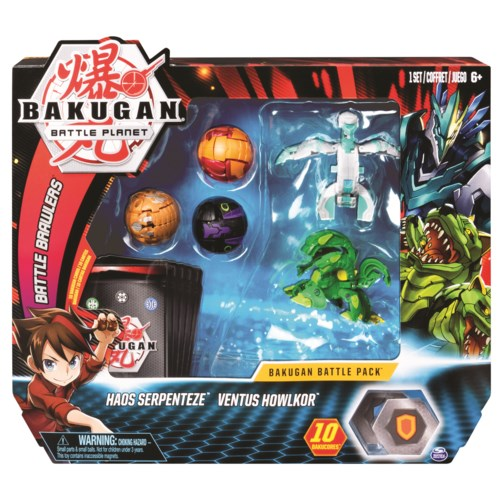 BAKUGAN - BATTLE PACK (6) BL