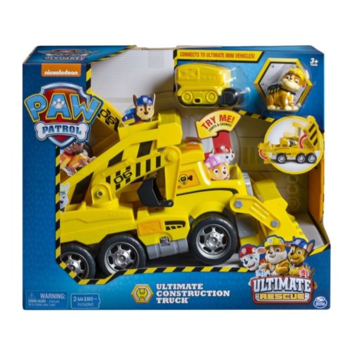 PAW PATROL ULTIMATE CONSTRUCTION TRUCK (1) BL