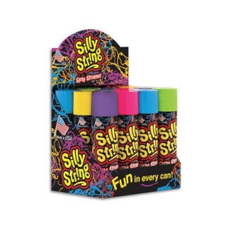 SILLY STRING 3oz CDU (12 CDU) BL