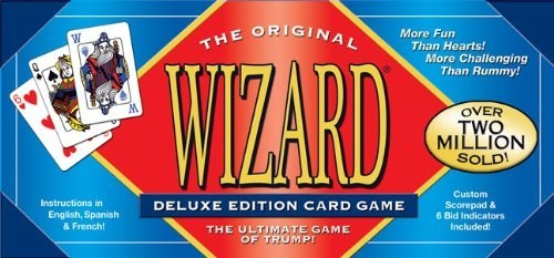 WIZARD DELUXE CARD GAME SET(18)