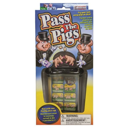 PASS THE PIGS (12)  BL