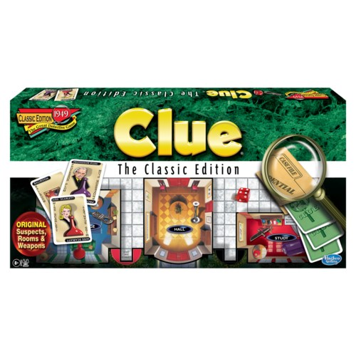 CLUE CLASSIC EDITION (6)