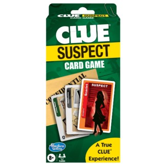 CLUE SUSPECT CARD GAME (12)