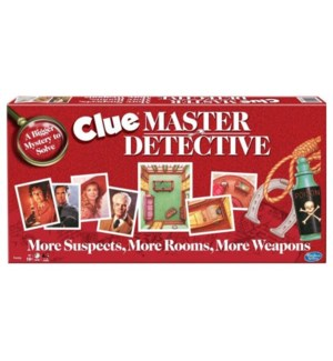 CLUE MASTER DETECTIVE (6)*SD*