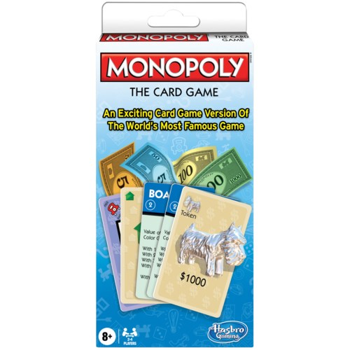 MONOPOLY THE CARD GAME (12)