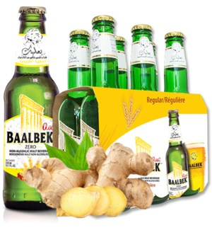 Baalbek Ginger malt drink 330ml * 24